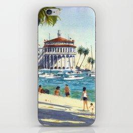 Avalon, Catalina Island iPhone Skin