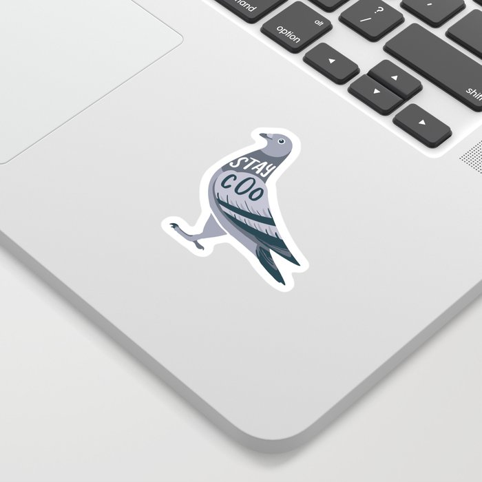 Stay Cool Pigeon Sticker