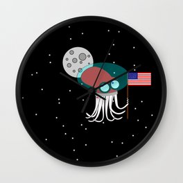 Where No Octopus Has Gone Before Wall Clock