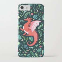 Tropical Dragon iPhone Case
