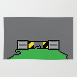 Teenage Mutant Ninja Pixels Rug