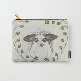 Aye-Aye Portrait Carry-All Pouch
