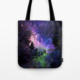 Fantasy Path Night Tote Bag