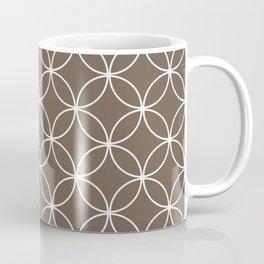 Crossing Circles - Cocoa Coffee Mug