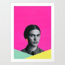 Modern Frida Art Print