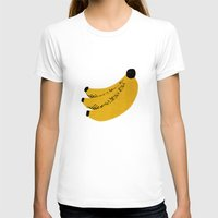banana T-shirts featuring Banana by Roland Lefox