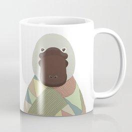 Whimsical Platypus Coffee Mug