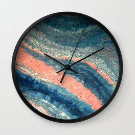 Marble Art V 6 Wall Clock