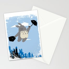 Totoro Poppins Stationery Cards