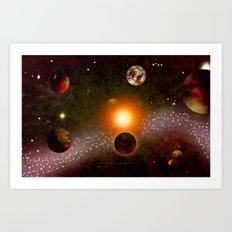 KANDY-VERSE - 106 Art Print