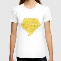honeycomb T-shirts featuring Honeycomb by Nikky
