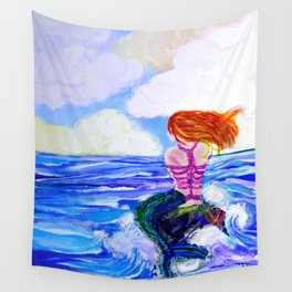 Ocean Bound Wall Tapestry
