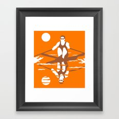 Rower Framed Art Print