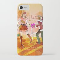 shopping iPhone & iPod Cases featuring Shopping by hazukei