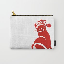 Red Mouse Queen Carry-All Pouch