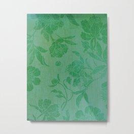 beautiful green flowers Metal Print