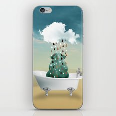 SHOWER CURTAIN iPhone Skin