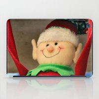 dentist iPad Cases featuring I wanna be a dentist but my arms are too floppy! by IowaShots