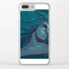 Blue is the warmest colour Clear iPhone Case