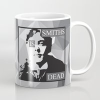 the smiths Mugs featuring WILDE by priscilawho
