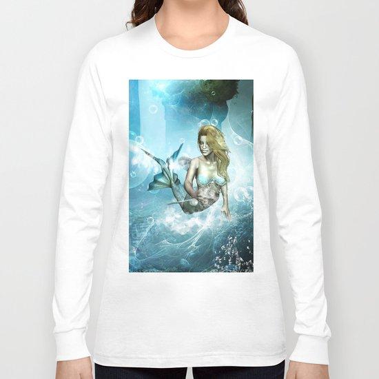 Beautiful mermaid Long Sleeve T-shirt