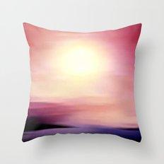 sunset in september. Throw Pillow