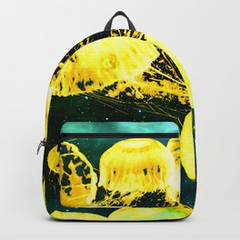 Electric Jellyfish in the Ether Backpack