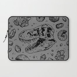 Geo-rex Vortex | Black Laptop Sleeve