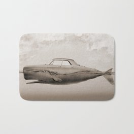the Buick of the sea Bath Mat