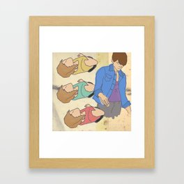 Tegan & Sara Framed Art Print