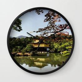 Kinkaku-ji Temple (Japan) Wall Clock