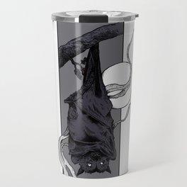 Purple Bat II Travel Mug