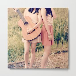 Strum My Heartstring  Metal Print