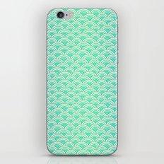 Mermaid Scales - Blue and Green Mermaid Costume iPhone & iPod Skin