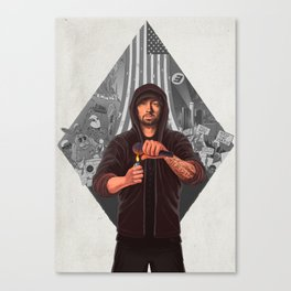 The Show (GREY) Canvas Print