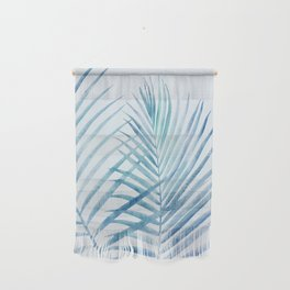 Coastal Palms Watercolor Wall Hanging