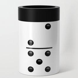 White Domino / Domino Blanco Can Cooler