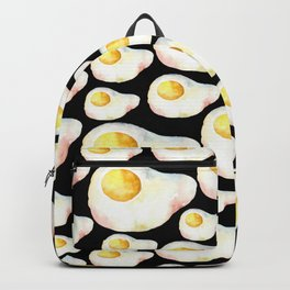 """""""It's breakfast time!"""" Black edition Backpack"""