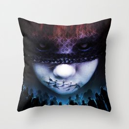 Leave A Scar Throw Pillow