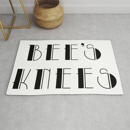 Bee's knees - vintage slang Rug