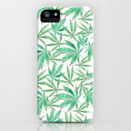 420 Leaves iPhone Case