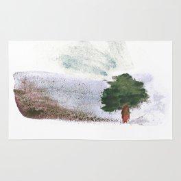 Desert tree Rug