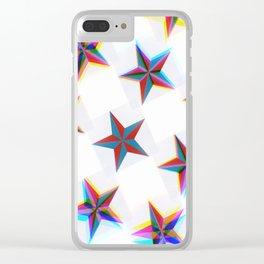 Stargazing 1 Clear iPhone Case