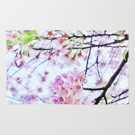 Under the Cherry Blossom Tree-picture 1 Rug