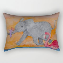 Little Giggles Rectangular Pillow