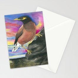 Common Myna Birds Stationery Cards