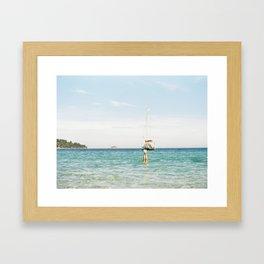 The Best Day of Summer  Framed Art Print