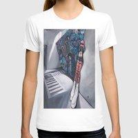 karma T-shirts featuring Karma by Sandi Sharp