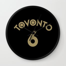 6 Man Wall Clock
