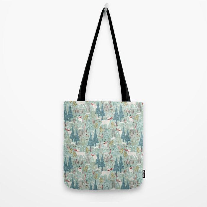 Woodland Christmas Tote Bag